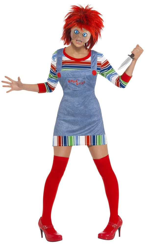 Chucky Ladies Costume - Halloween