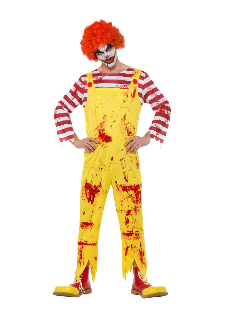 Creepy Killer Clown Costume - Halloween