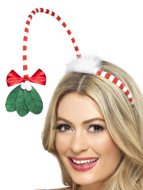Mistletoe Kisses  Christmas Headband