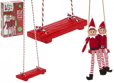 Elves Behavin' Badly - Swing Seat