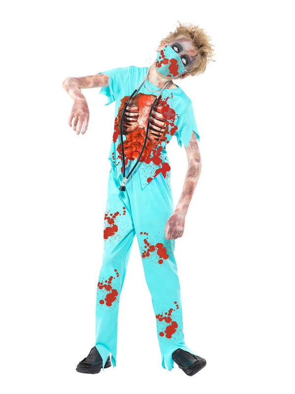 Zombie Surgeon Costume - Halloween