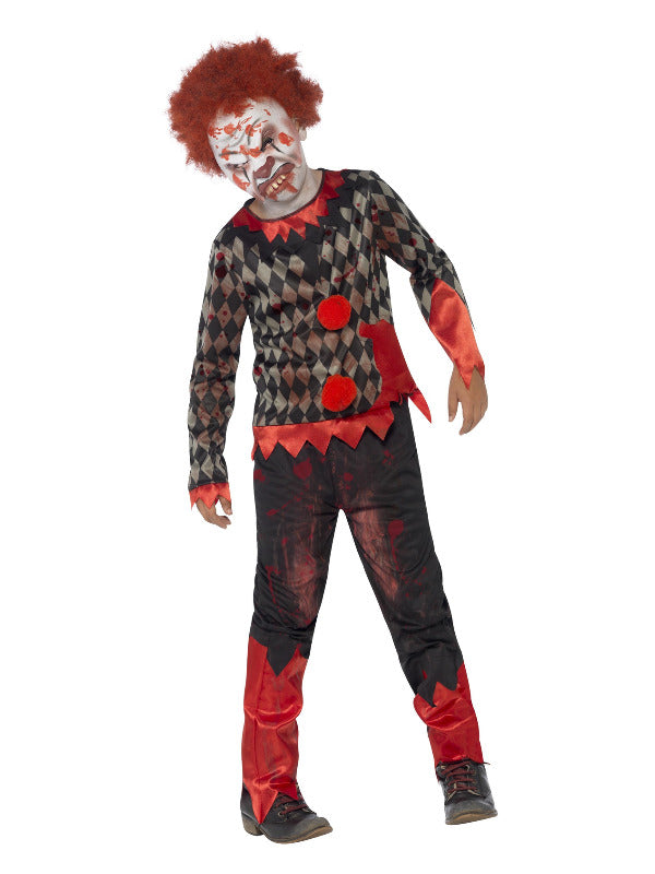 Deluxe Zombie Clown Costume - Halloween