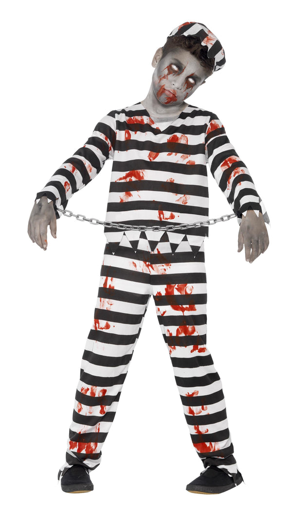 Zombie Convict Costume - Halloween