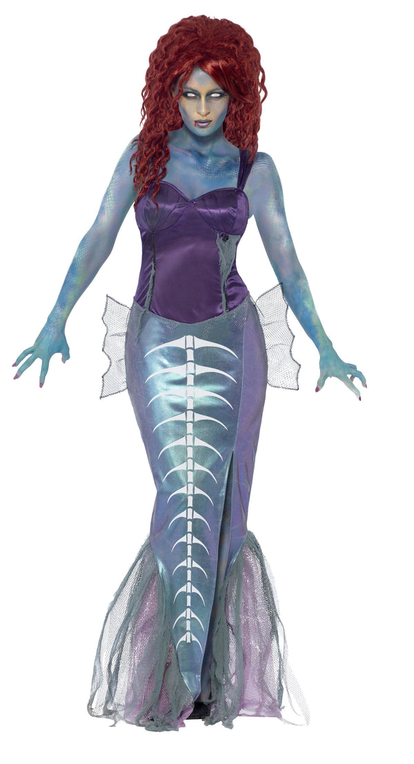 Zombie Mermaid Costume - Halloween