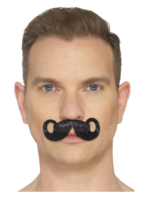 The Imperial Deluxe Moustache - Black