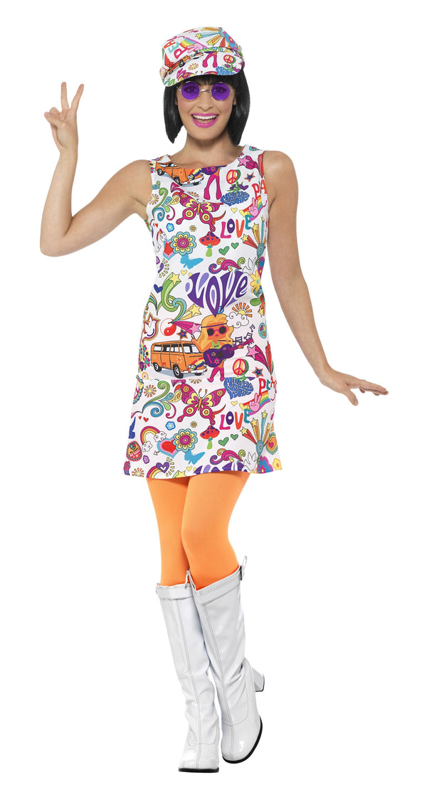 60s Groovy Chick Costume