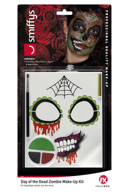 Day of the Dead Zombie Make-Up Kit, Grease