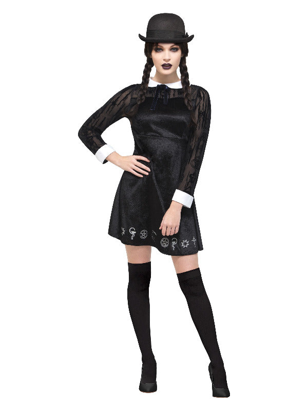 Deluxe Gothic School Girl Costume