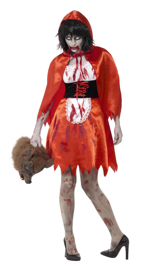 Zombie Little Miss Hood Costume -  Halloween
