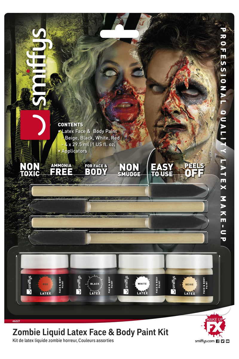 Horror Zombie Liquid Latex Kit