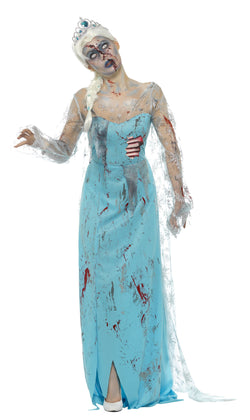 Zombie Froze To Death Costume - Halloween