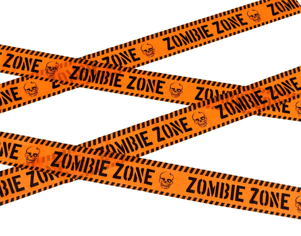 Zombie Zone Caution Tape