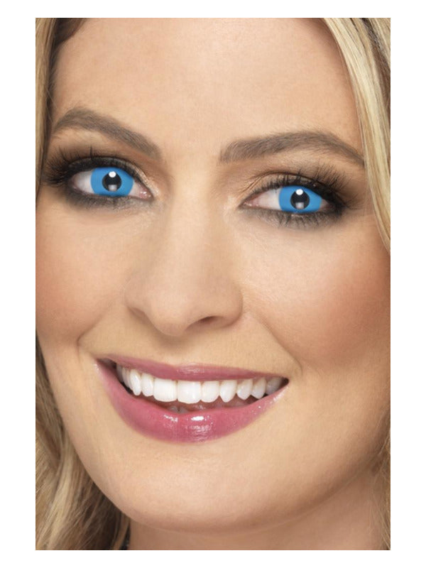 Blue Harlequin Contacts