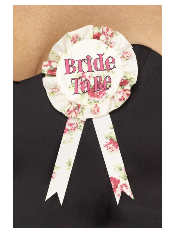 Vintage Bride to Be Party Rosette