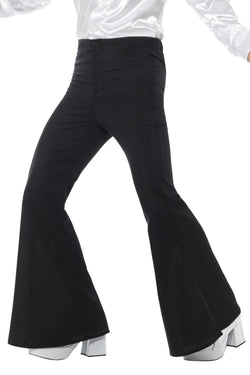 Flared Trousers Black