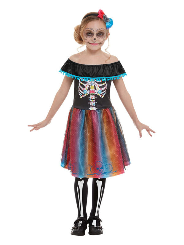Day Of The Dead Girl Costume - Halloween