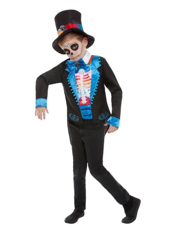 Day Of The Dead Boy Costume - Halloween