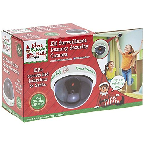 Elves Behavin' Badly - Elf Surveillance Camera