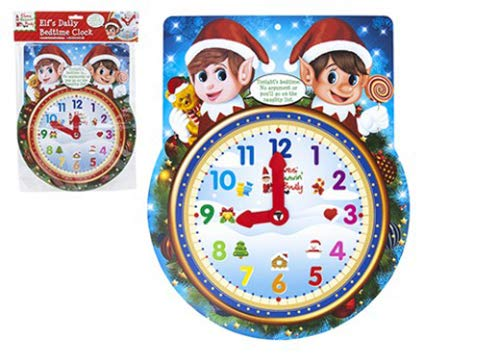 Elves Behavin' Badly - Elf Daily Bedtime Clock