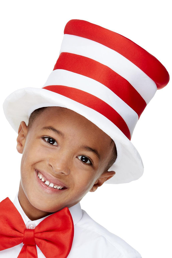 Stripey Red & White Hat
