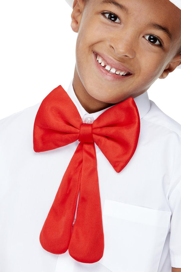 Kids Red Bow Tie