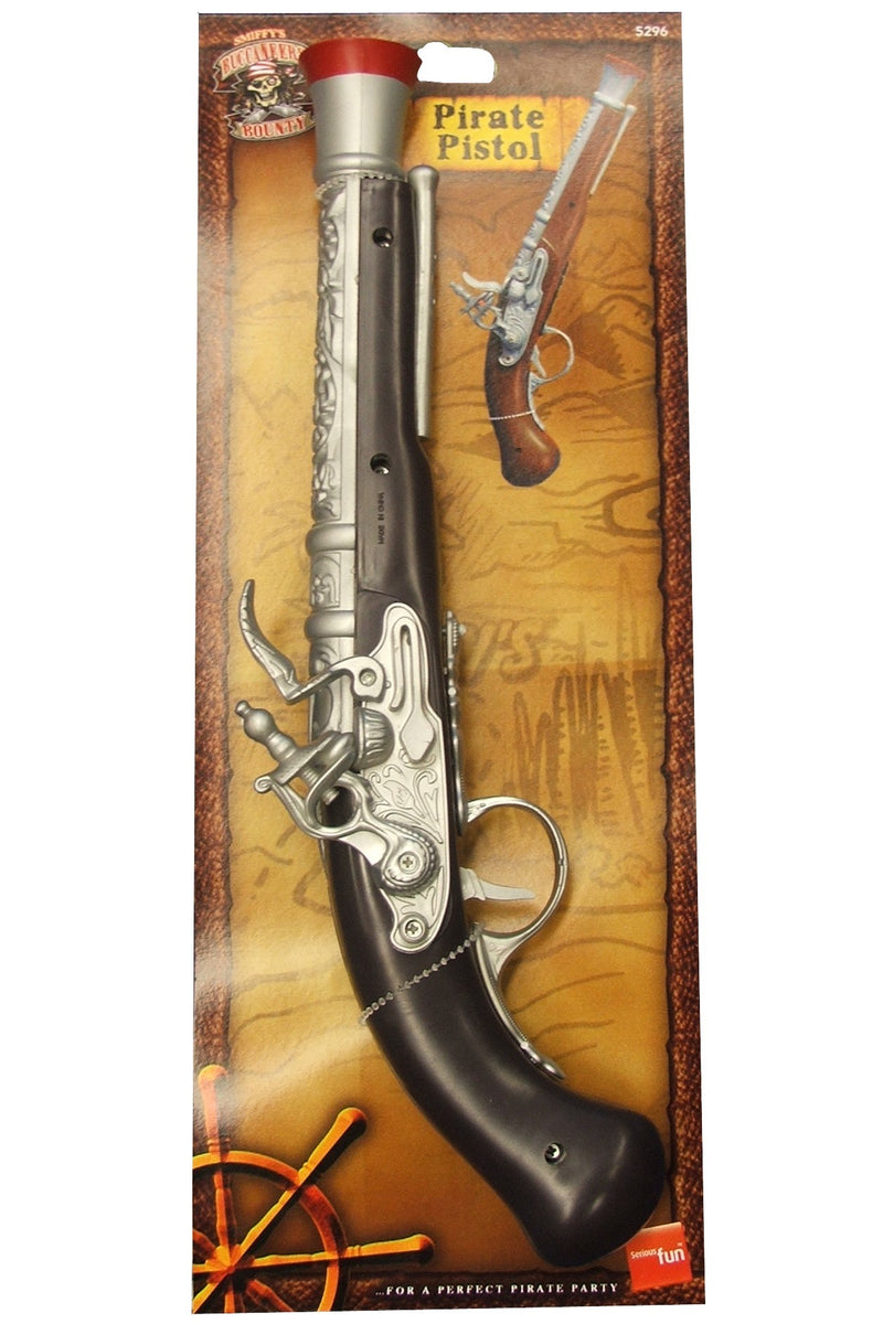 Pirate Pistol, Silver