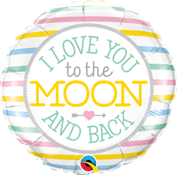Love You To The Moon & Back Foil Balloon