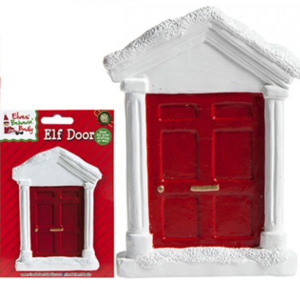 Elves Behavin' Badly - Elf Door