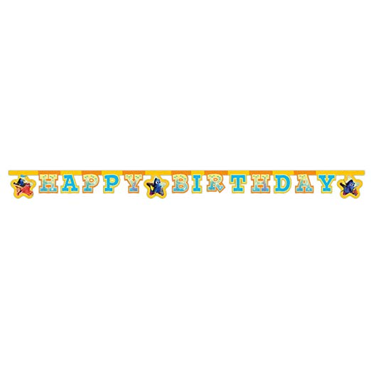 Finding Dory Happy Birthday Banner