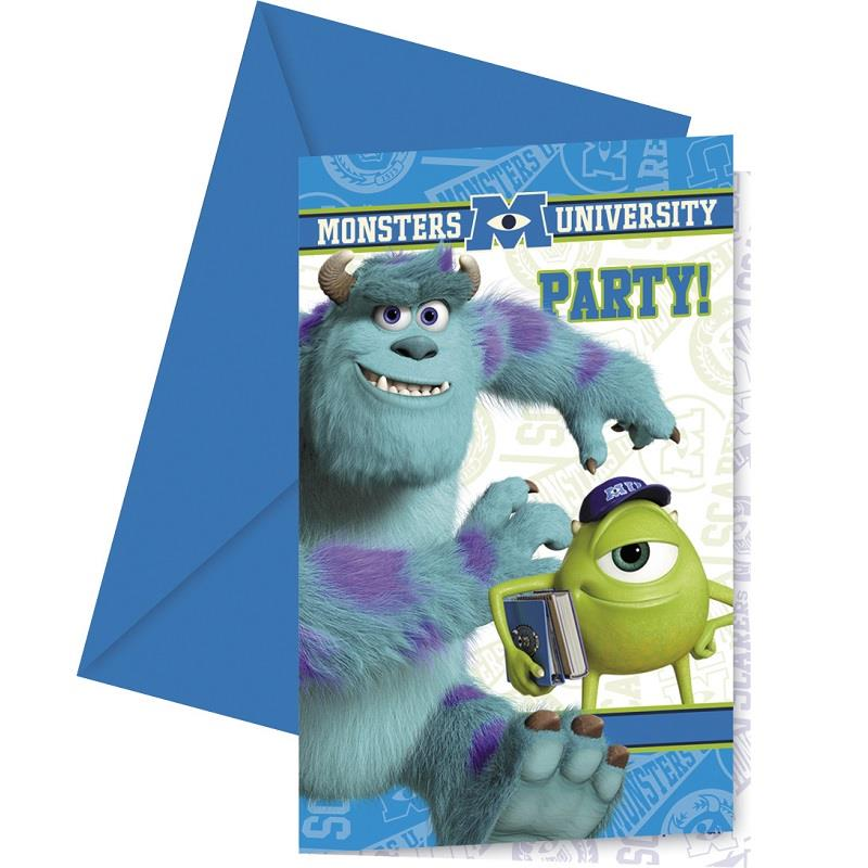 Monsters Inc Party Invites