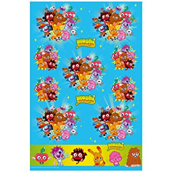 Moshi Monsters Party Table Cover