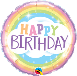 Birthday Rainbow Foil Balloon