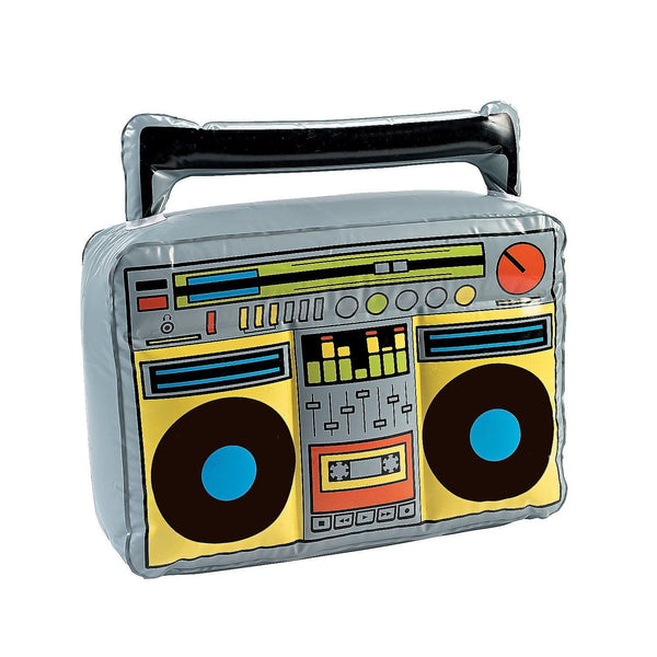 Inflatable Retro Boom Box
