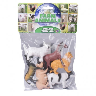 Natural World Bag Of Farm Animals