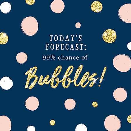 99% Chance Of Bubbles