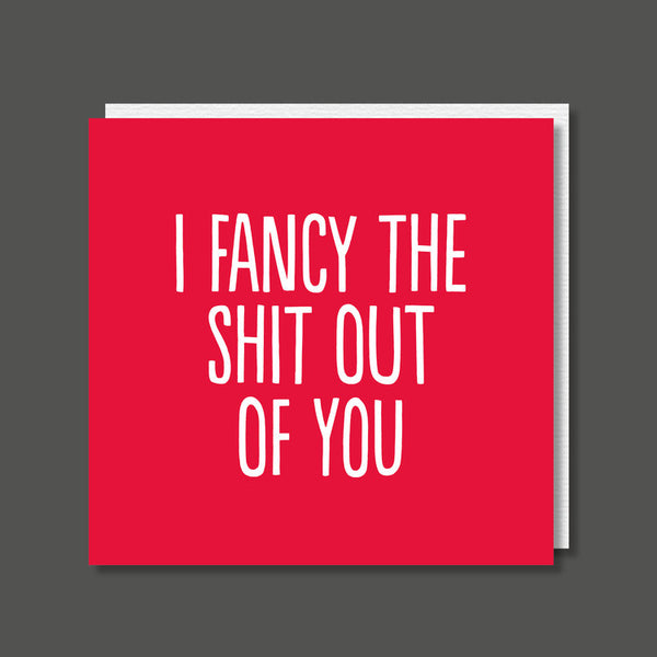 I Fancy You - Rude Card
