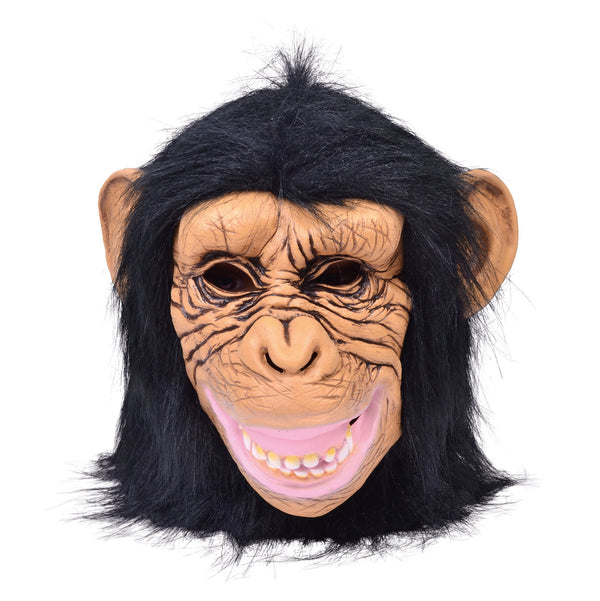 Overhead Chimp Latex Mask