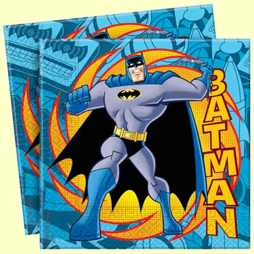 Batman Napkins