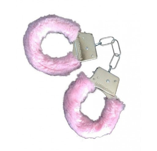 Handcuffs with Pink Fur