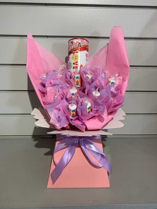 Love Hearts Candy Bouquet