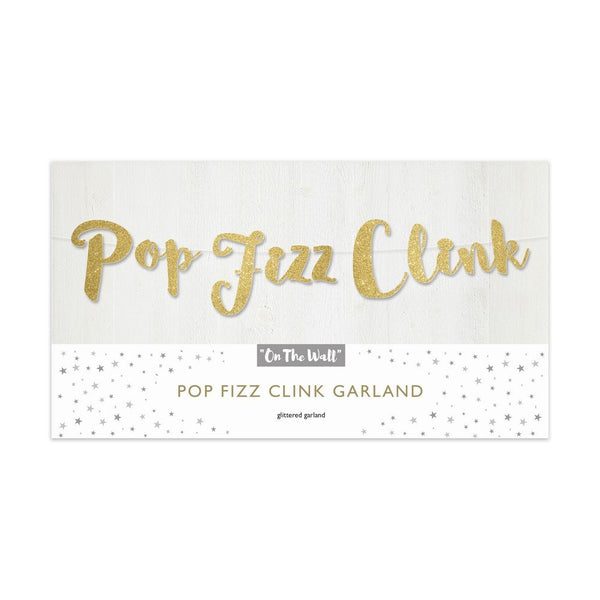 Pop Fizz Clink Garland