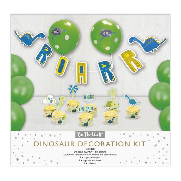Dinosaur Decoration Party Kit