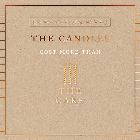 The Candles, The Cake