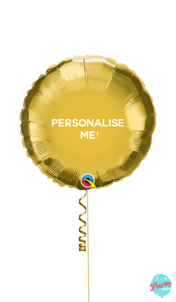 Personalised Foil Balloon - Round Shape