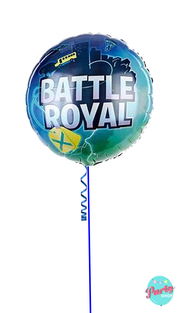 Inflated Battle Royal Fortnite Foil