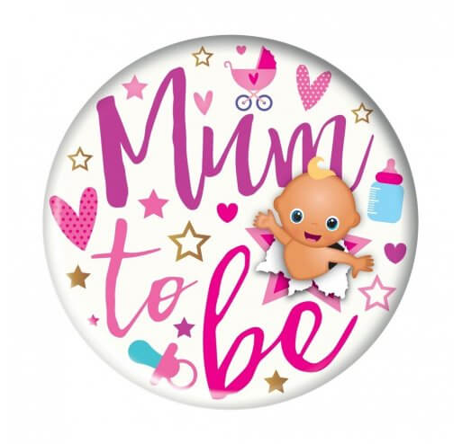 Mum To Be - Jumbo Badge