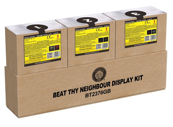 Beat Thy Neighbour Firework Display Kit