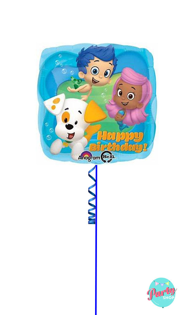 Inflated Bubble Guppies Foil
