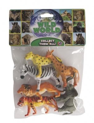 Natural World Bag Of Wild Animals