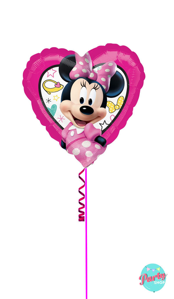 Inflated Minnie Mouse Plain Foil